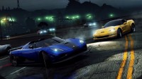 Wallpaper with a racing duel involving a car Koenigsegg CCGT