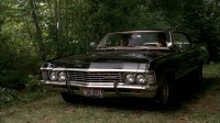 Wallpaper with a rigid machine Chevrolet Impala