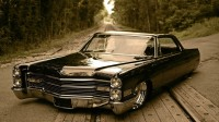 Wallpapers with valuable noteworthy car Cadillac DeVille