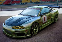 Wallpapers com imediato prompt de galgo carro Mitsubishi Eclipse GSX