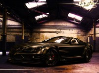 Wallpapers with thematically multi roadster Mercedes-Benz SLR