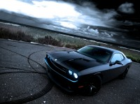Foto inflado muscle car Dodge Challenger