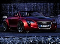 Wallpaper with a quick executive Honourable car Audi TT